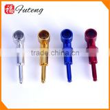 Good Quality Nice Novelty Tobacco Pipe Mixed Color Smoking Aluminum Cigarette Pipe
