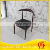 New design!!! Backrest iron dining chair