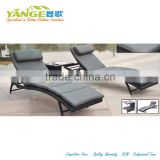 guangzhou furniture market rattan sunbed room furniture into a table