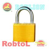 Satin-Brass Iron Padlock