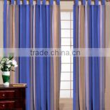 BAMBOO DOOR STRIPE CURTAIN / WOODEN DOOR STRIPE CURTAIN / COTTON CURTAIN FABRIC