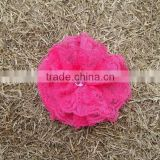 Wholesale hobby lobby handmade pink lace cheap artificial flower