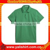 New design cheap comfortable solid color short sleeve bamboo men polo shirt specification