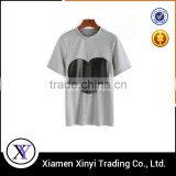 95% Bamboo 5% Spandex Customized Printed T-shirt Made In China