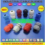 Polyamide (Nylon or Plastic) Liquid Tight Cable Glands with PG, Metric, NPT, BSC, G & BSP Threads