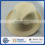 Beautiful fedora straw hat