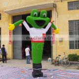 6m tall dog air dancer inflatable dancing man with air dancer blower