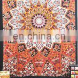 Mandala Tapestry Bedspread Wall Hanging Beach coverlet Bedspread Boho Hippie Throw Tapestries wall decor art Elephant Star
