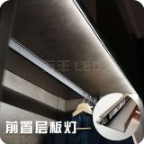 Front wood laminate LED Light Clip
