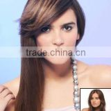 Indian tassel fringe/bangs human hair