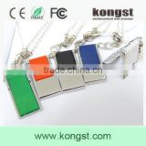 1/2/4/8/16GB Colorful metal mini usb flash drive, good quality and custom logo usb pen drive with factory price