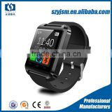 Wholesale touch screen cheap U8 Bluetooth Smart Watch support Altitude Pedometer Anti-theft alarm