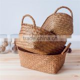 New Product China Supplier Rectangular wicker Basket,seaweed basket                                                                         Quality Choice