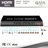 8x8 eight Port HDMI Matrix 1.3v Switch Switcher Selector 3D RS-232 TCP/IP control EDID Support 1080P