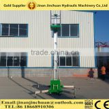 Hot sale !! Tilting Aluminium Alloy Lifting platform/ High quality aluminum lift platform /Mobile aluminum lift/electric person