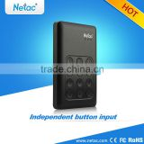 Netac AES new design 2.5 portable 2tb for laptop hard drive