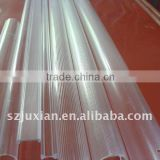 plastic extrusion profiles custom high transparent/clear PC Cover