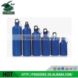 BSCI Factory Promotional Aluminum Water Bottle/ Aluminum Drinking Bottle With Carabiner/ Aluminum Sport Drink Bottle