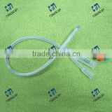 3 way standard silicone foley catheter balloon 22Fr