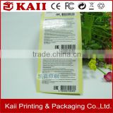 wholesale factory of paper label high quality, customized printing design paper label, fast delivery paper label