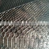 pu/pvc synthetic leather ,artificial leather rexine leather snake glitter pattern