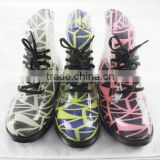 2016 simple pvc rain boots comfortable ladies boots waterproof jelly shoes colorful fashion boots rain boots
