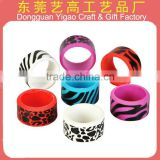 silicone rubber finger ring, PVC children's ring, rubber findger ring