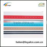 polyester knit elastic band webbing flexible strap with buttonhole webbing tape manufacturers
