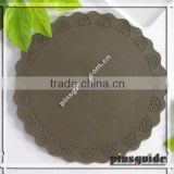 Wholesale High Quality Custom Logo Soft Rubber Luminous Blank Coasters For Table Decoration