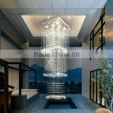Concealed ceiling light chandelier with prices crystal banquet hall light