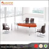 High Quality China Manufacturer Veneer Meeting Table Chatting Table Office Conference Table