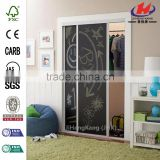 JHK-F01 Wall Dividers Double Flush Office Door Track Interior Door