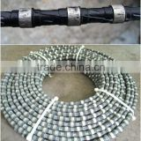 11.5mm Diamond Rope Wire Saw,Diamond Wire,Diamond rope saw, wholesale products OEM Diamond Wire For Cutting Marble And Granite
