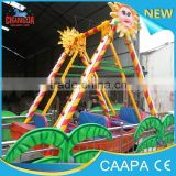 2015 CE approved theme park Mini Viking Ship costume playground equipment