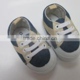 Infant baby sports shoes denim fabric baby walker baby shoes