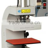 seamless heat pressing machine for pasting embroidery, trademarks, glass beads,zipper,patch pocket on garment