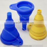 Silicone Foldable Funnel 100% Food Grade Collapsible Silicone Funnel