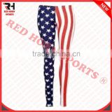 US Flags Tights for Women's, Custom Made Compression / Running / Fitness / Yoga Tights,