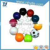 Promotional logo Disposable teenage Raincoats, Round Soccer ball Rain Poncho