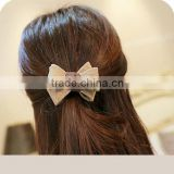 Korean Fashion Lovely Bows Elastic Hair Bands Rubber Band Cute Ponytail Holder for Women Headwear Accessories