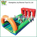 Funny! Derby Horses giant inflatable sport games for kids