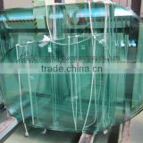 curved glass table