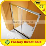 10mm clear cheap custom shower screen