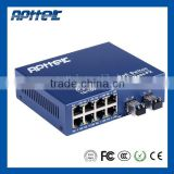 8 port media converter 100M Rj45 8 port media converter sfp 8 port media converter