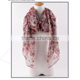Whosale china new fashionable woven acrylic cashmere feel shawl plain scarf