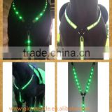 Eyelet LED Horse Flash Breastplate With Reflective Strip (Made-In-China)