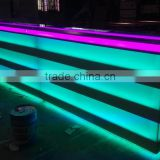 Dance club LED flash display furniture , shining counter bar tool, MDF spray paiting commercial furniture