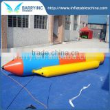 Exciting inflatable banana boat water games