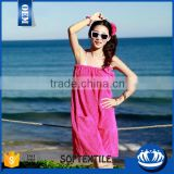Made in china effecieny customized beach towel dress