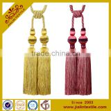 Alibaba china curtain rayon tassel tieback